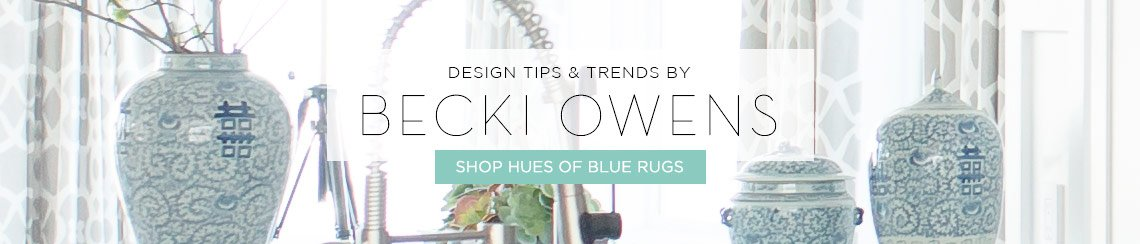Hues of Blue Rugs