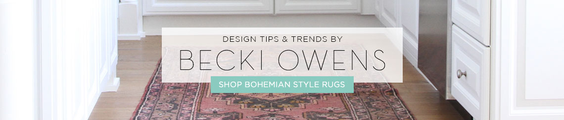 Bohemian-Style Rugs
