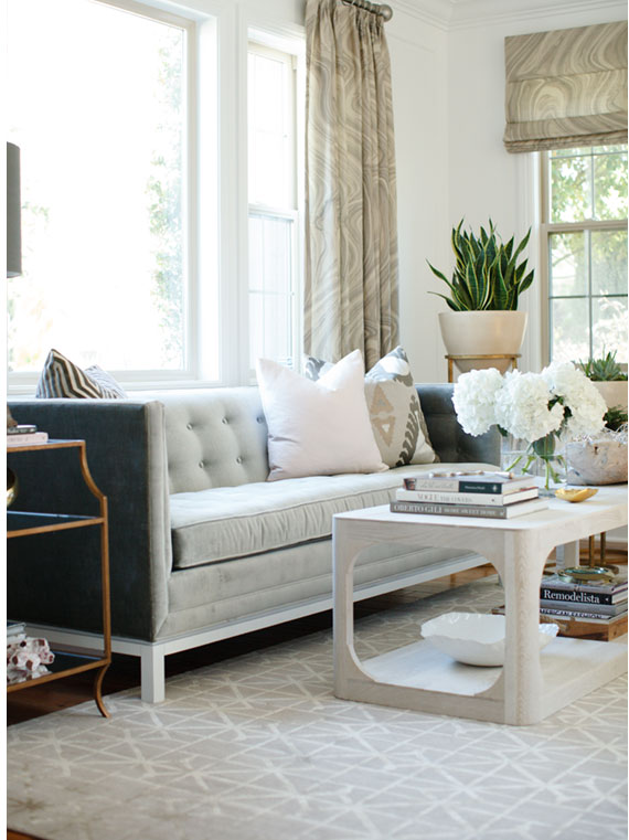 Decorating with Cool Gray Rugs