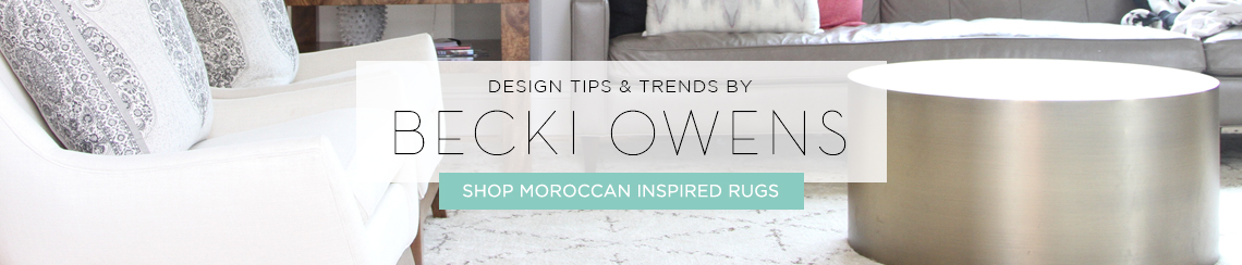 Moroccan Inspired Rugs