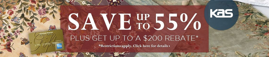 KAS - Save up to 55% plus get up to $200 back.