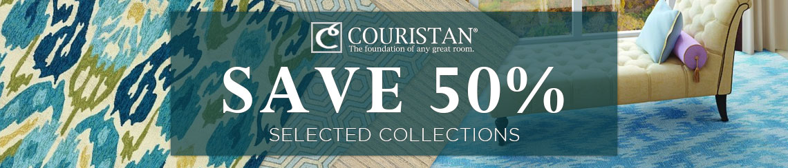 Couristan Rugs - Save up to 50% on select collections.